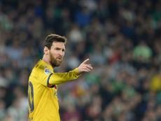 Messi dá três assistências e o Barça fica com a vitória. EFE