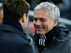 Pochettino : 'Je suis très heureux que Mourinho soit à Tottenham'. GOAL