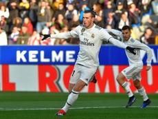 Bale suma siete goles esta temporada. AFP