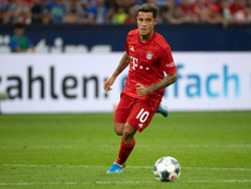 He is on loan at Bayern. AFP