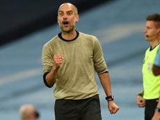 Guardiola está encantado con su último fichaje. AFP/Archivo