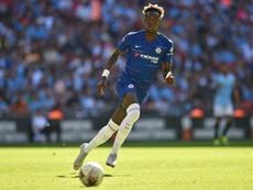 Abraham está encajando una gran temporada con el Aston Villa. AFP