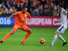 Van Persie défend Manchester United. EFE