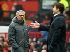 Mourinho interesa al Tottenham; Pochettino, al United. AFP
