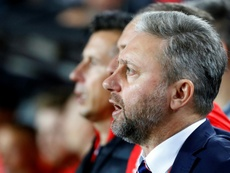 Le sélectionneur de la Pologne Jerzy Brzeczek limogé. AFP