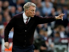 Moyes wanted to stay. AFP