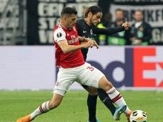 Xhaka pode trocar o Arsenal pelo Newcastle. AFP