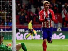 Griezmann hits four as Atletico thrash Leganes. AFP