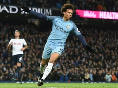 Manchester City's midfielder Leroy Sane apologizes on Twitter. AFP