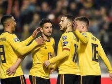 Bélgica siempre recupera al mejor Hazard. AFP