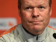 Koeman dirige la Selección Holandesa desde febrero de 2018. AFP