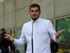 Casillas répond aux rumeurs sur Twitter. AFP