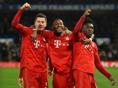 Alphonso Davies ya es una estrella en el Bayern. AFP
