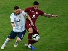 Así fue el partido de Messi: poco impacto, pero clave. AFP