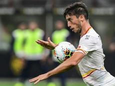 La presión y la mala suerte condenan al Lecce al descenso. AFP