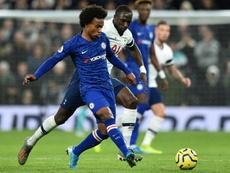 Willian et Chelsea en discussions pour un nouveau contrat. Goal