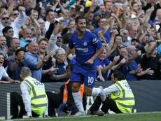 Maurizio Sarri has tipped Chelsea forward Eden Hazard has to win the Premier League Golden Boot. AFP