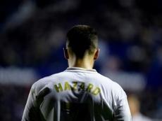 Opération pour Eden Hazard ? AFP