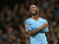 Sterling no olvida al Liverpool. AFP