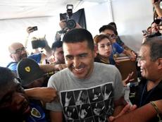 Riquelme es todo un ídolo en Boca. EFE
