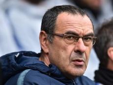 Sarri habló sobre el posible fichaje de Pogba por la Juventus. AFP