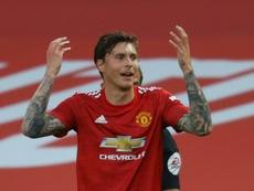 El United prohíbe a Lindelof viajar a Dinamarca con Suecia. AFP