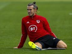 Bale volvió lesionado de la concentración con Gales. AFP