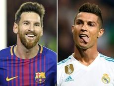 Van Basten puso muy por encima a Leo Messi. AFP