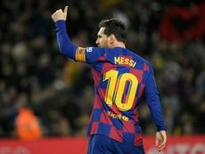 Messi non ha ancora rinnovato. AFP