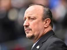 Benítez fue recientemente nombrado como técnico del Dalian Yifang. AFP