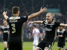 Tres ex del Madrid valoraron la posible llegada de Van de Beek. AFP