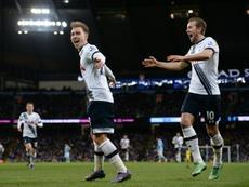 El Tottenham venció al Stoke a domicilio. AFP