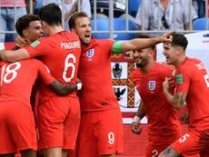 Para Shearer, la victoria en Sevilla fue más importante que la semifinal del Mundial. AFP