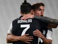 Le duo mortel de l'attaque de la Juventus Turin. AFP