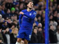 Hazard quiere jugar en el Madrid. AFP