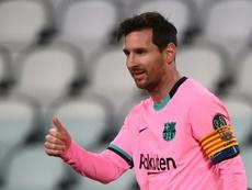 Messi podría volver a jugar en su tierra natal. AFP