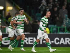 Celtic will face Hearts at Murrayfield in the Scottish League Cup semin-final. AFP