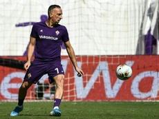 Ribéry, sur le retour. AFP