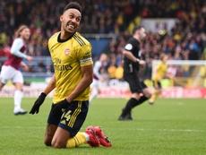La fortuna que le pide Aubameyang al Arsenal. AFP