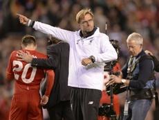 A Jürgen Klopp no se le da bien jugar contra el Sevilla. AFP