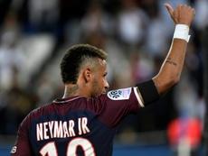 No habrá un plan 'anti-Neymar' en el Saint-Étienne-PSG. AFP