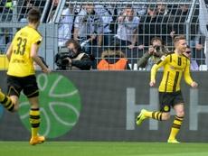 Reus nets on return as rattled Dortmund bounce back