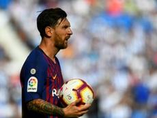 Messi demostrará 'Fair Play' en la gala 'The Best'. AFP