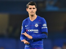 Morata has been linked with a move to Spain. AFP