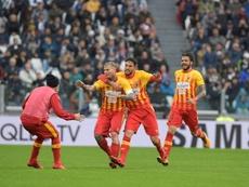 El Benevento no es el único equipo que aún no ha estrenado su casillero de puntos. AFP
