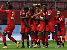 Un poco de Camavinga no es suficiente para el Rennes. AFP