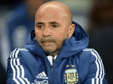 Caniggia cargó contra Sampaoli y su actitud en el Mundial. AFP