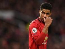 Rashford dévoile son top 6 des joueurs de Manchester United. AFP