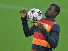 Eboue's fall from grace continues. AFP