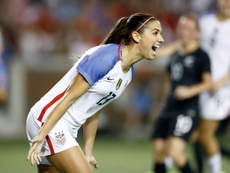 Alex Morgan está entre ellas. AFP